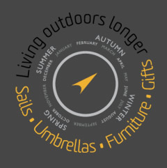 Sails, Umbrellas, Furniture, Gifts - Living outdoors longer