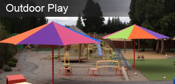 Outdoor Play - Sails and Umbrellas